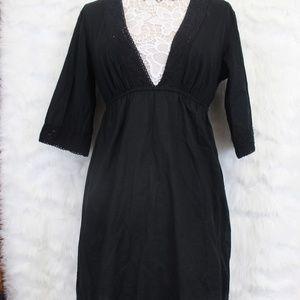 Black Swimsuit Coverup